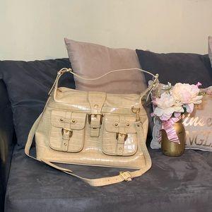 Handbags - NWOT   Tan Faux Leather Overnight Bag